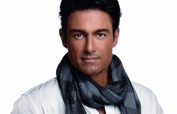 The 51-year old son of father (?) and mother(?), 187 cm tall Fernando Colunga in 2017 photo