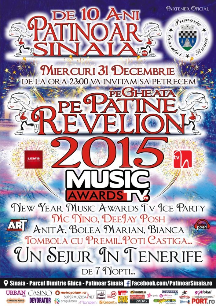 Revelion pe Patine 2015