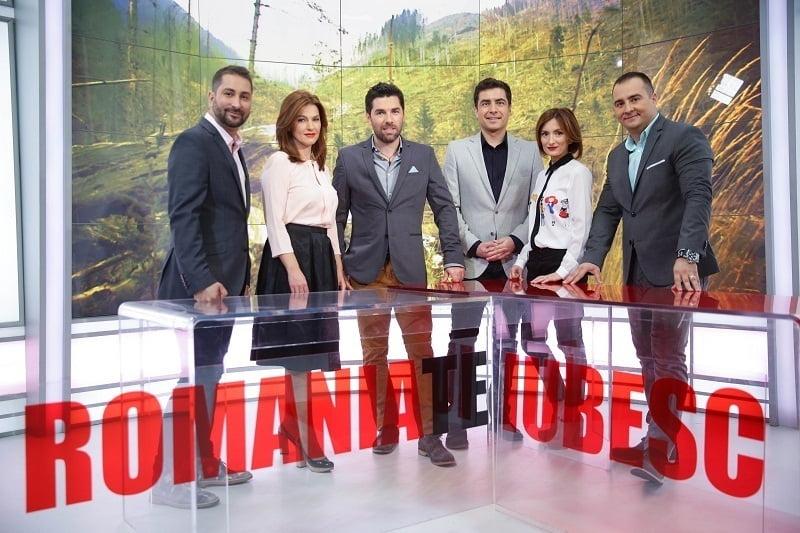 romania te iubesc - echipa PRO TV
