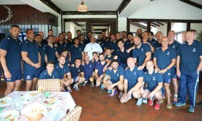 Horia Virlan a gatit pentru Echipa Nationala de Rugby  prima tv
