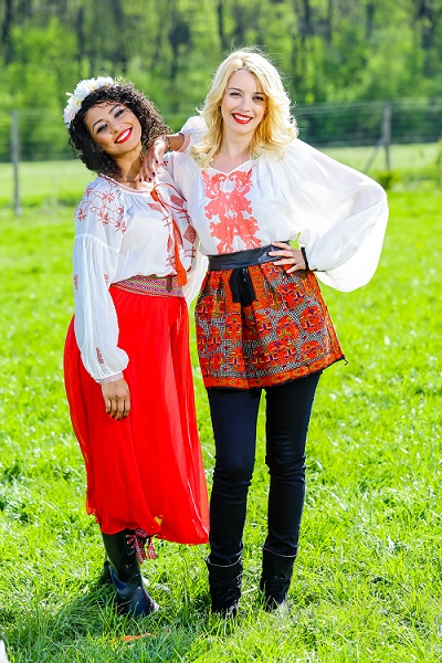 Diana Dumitrescu si Majda Aboulumosha – Ferma vedetelor