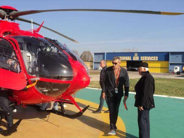 coter de Adrian Vasilache – pilot, directorul Aeroportului Tuzla pentru a survola dupa 50 de ani desupra locului unde a avut loc misiunea de salvare