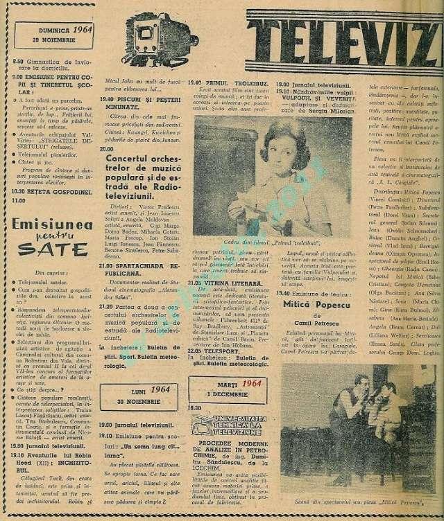 televiziune ANALIZĂ. Drumul televiziunii: de la un jurnal de știri la războaie pentru audiență