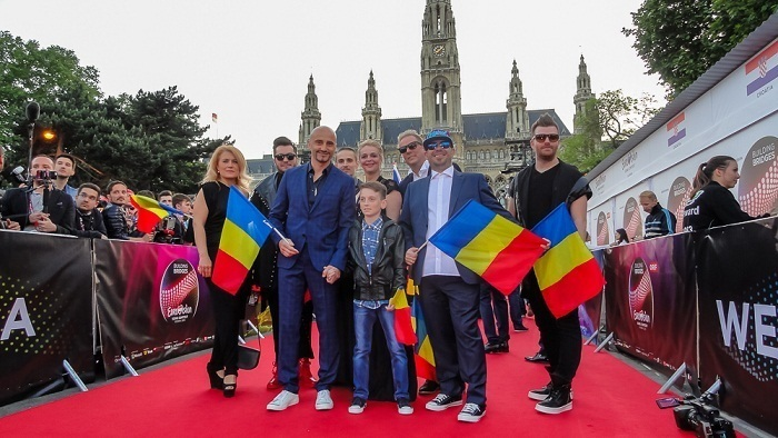 EUROVISION ceremonia de deschidere
