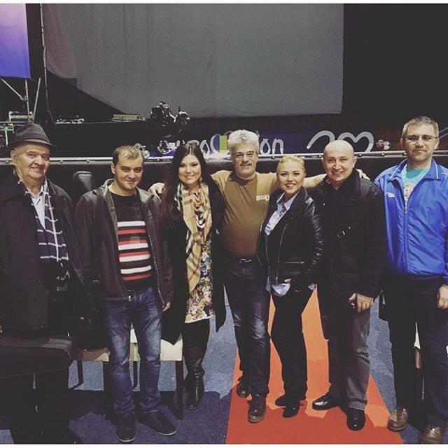 Paula Seling si echipa TVR