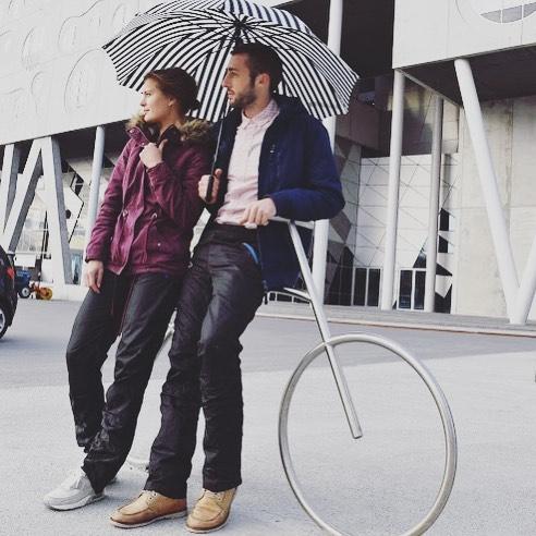 nuante de calitate stabilă design nou Au aparut pantaloni pentru biciclisti. Inventatori: doi ...